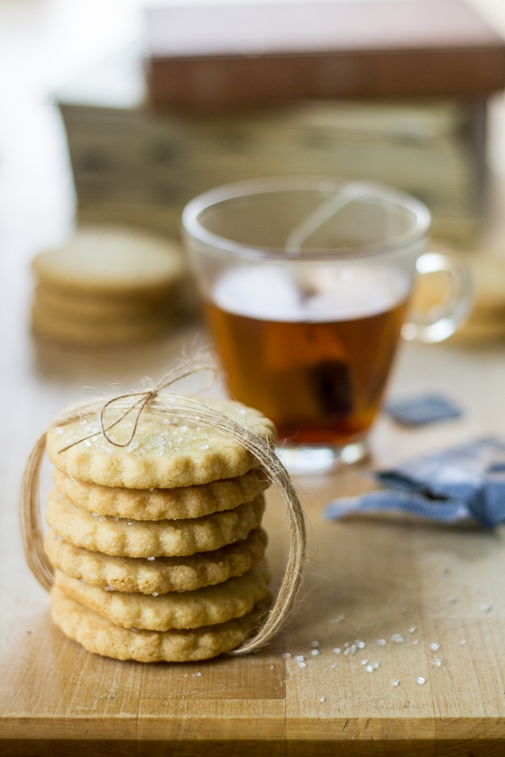 Sparkling Scottish Shortbread Cookies 2 The Wanderlust Kitchen