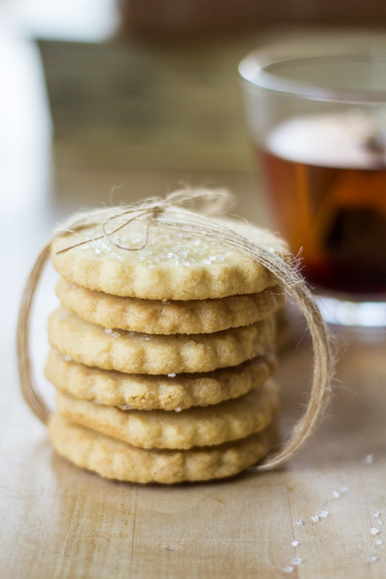 Sparkling Scottish Shortbread Cookies 5 The Wanderlust Kitchen