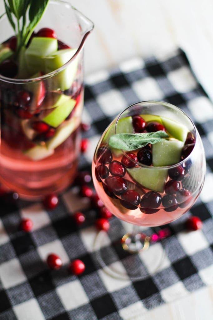 Simple Christmas Sangria Recipe