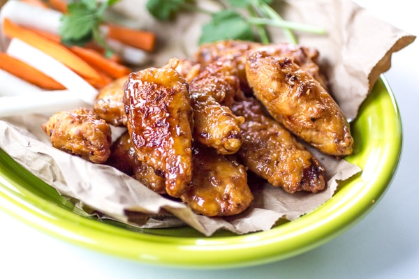 Inspired by Ike's Vietnamese Pok Pok Chicken Wings, these boneless chicken wings are caramelized in a simple sauce that will have you licking your fingers!