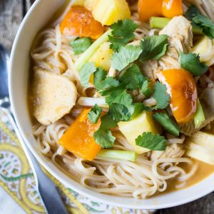 Grab a fork and dig into these slurp-worthy Thai Curry Noodles!