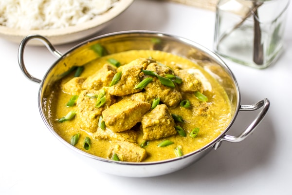Indian chicken korma the wanderlust kitchen creamy spiced chicken korma is the stuff dreams are made of loosen up those forumfinder Gallery