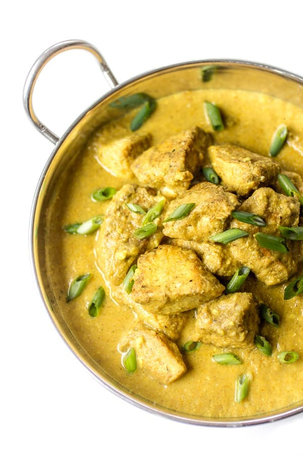 Indian chicken korma the wanderlust kitchen creamy spiced chicken korma is the stuff dreams are made of loosen up those forumfinder Images