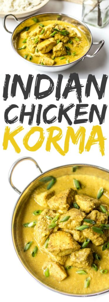 This creamy, spiced Chicken Korma recipe is the stuff dreams are made of. Loosen up those pants and make this delectable Indian dish at home!