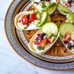 Tzatziki Bites with Greek Salsa