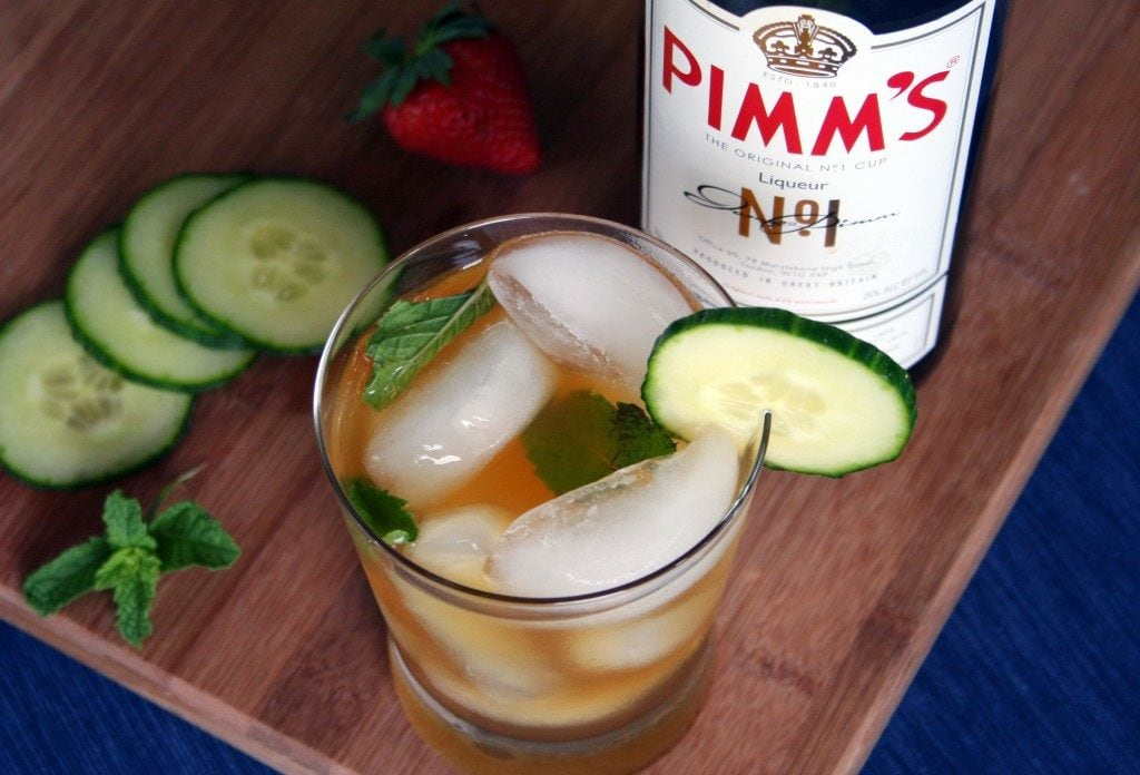 Pimm's Cup | A week of delicious recipes inspired by places around the world!