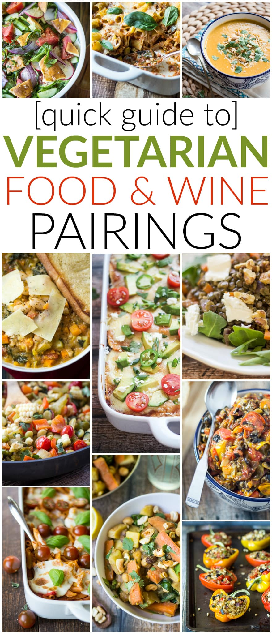 Quick guide to vegetarian wine pairings the wanderlust kitchen red wine with beef white wine with fish right what about vegetarian recipes forumfinder Gallery