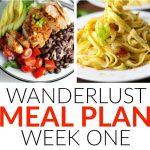 Wanderlust Meal Plan – Week 1