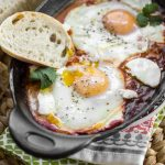 Harissa Shakshuka (North African Eggs in Purgatory)