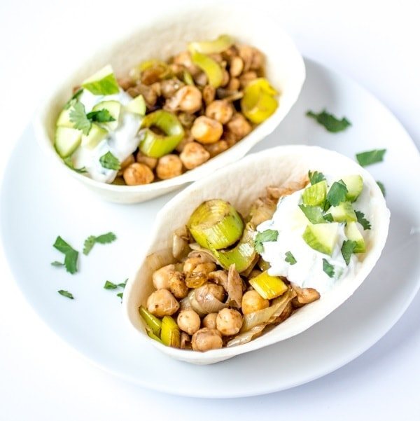 Indian chickpea tacos with easy cucumber raita the wanderlust kitchen forumfinder Gallery