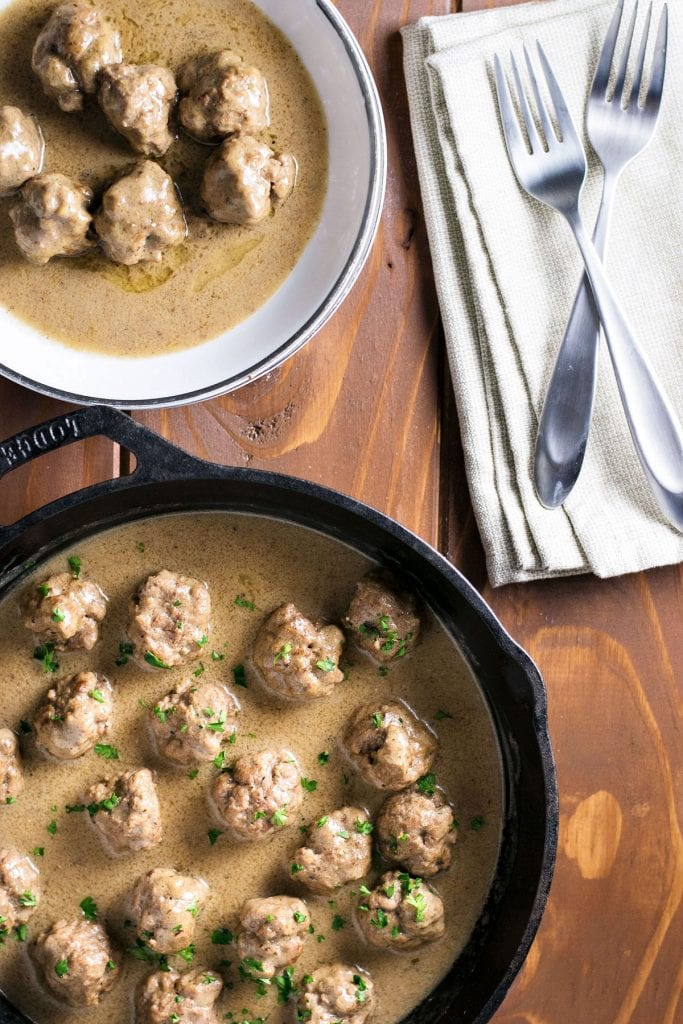 Swedish Meatballs | A week of delicious recipes inspired by places around the world!