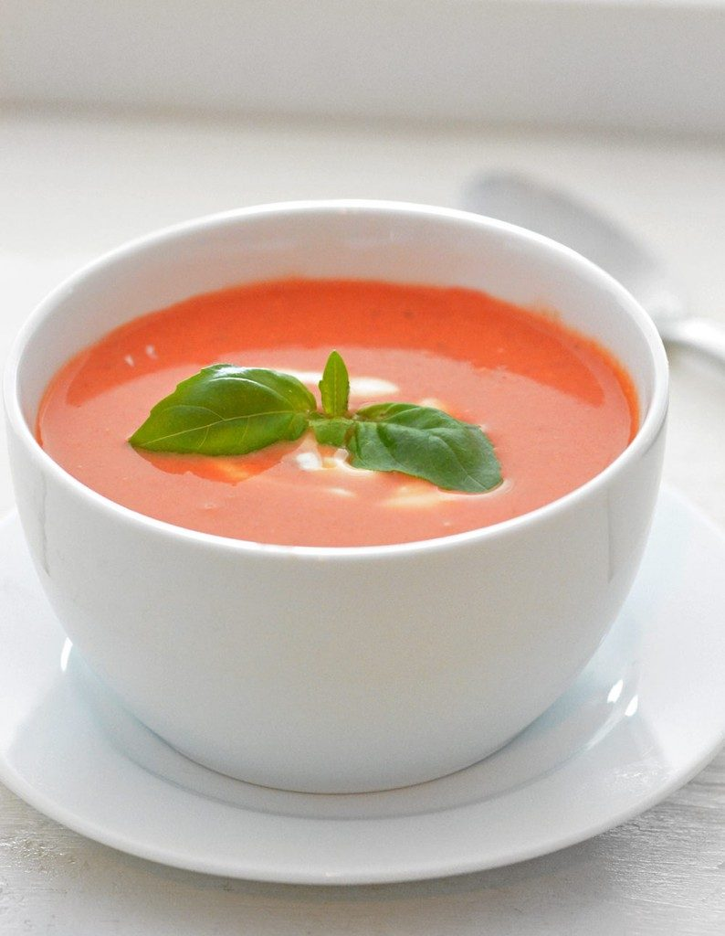 Tomato Soup | A week of delicious recipes inspired by places around the world!