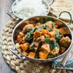 South Indian Sweet Potato Curry