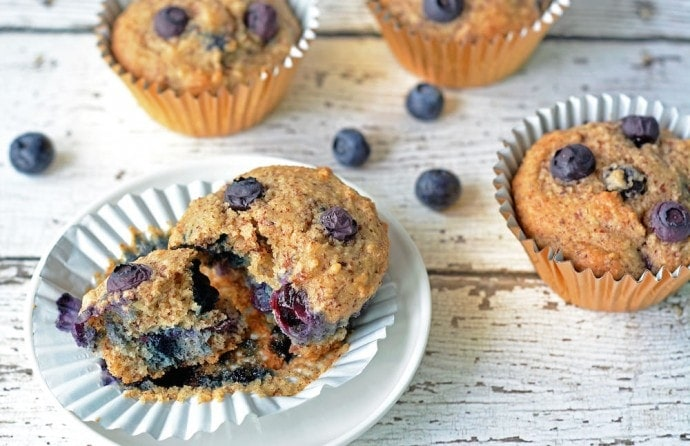 Blueberry Muffins | A week of delicious recipes inspired by places around the world!