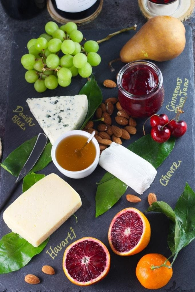 Dessert Cheese Platter | A week of delicious recipes inspired by places around the world!