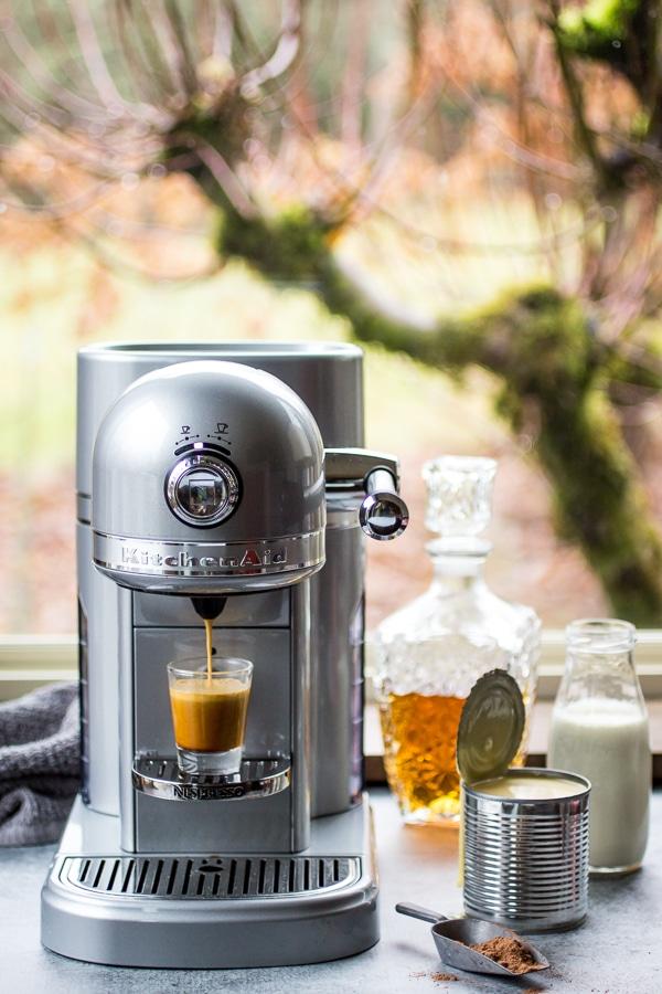 The best way to perk up any cup of coffee - homemade Irish Cream!