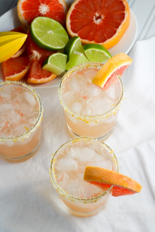 Honey Paloma Cocktails | A week of delicious recipes inspired by places around the world!