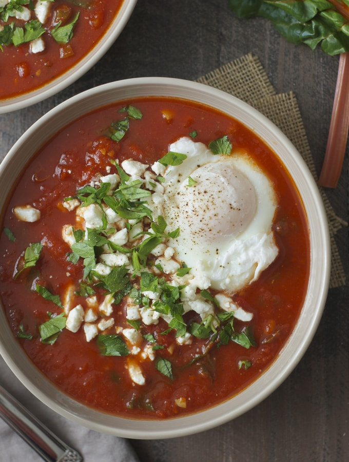 Shakshuka Soup | A week of delicious recipes inspired by places around the world!