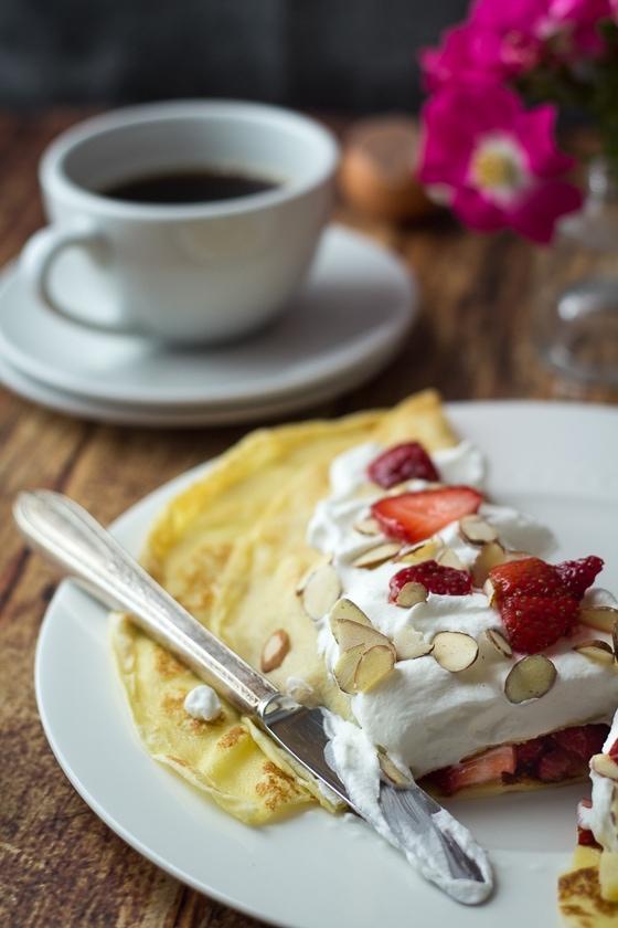 Homemade Swedish Pancakes | World Cravings - Week 8 - Wanderlust Meal Plan