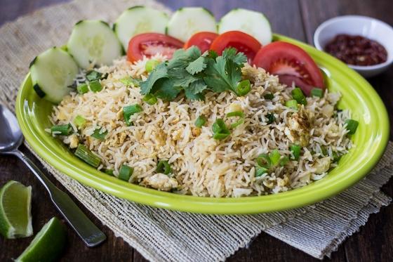Thai Fried Rice | Make Ahead Meatless - Week 9 - Wanderlust Meal Plan
