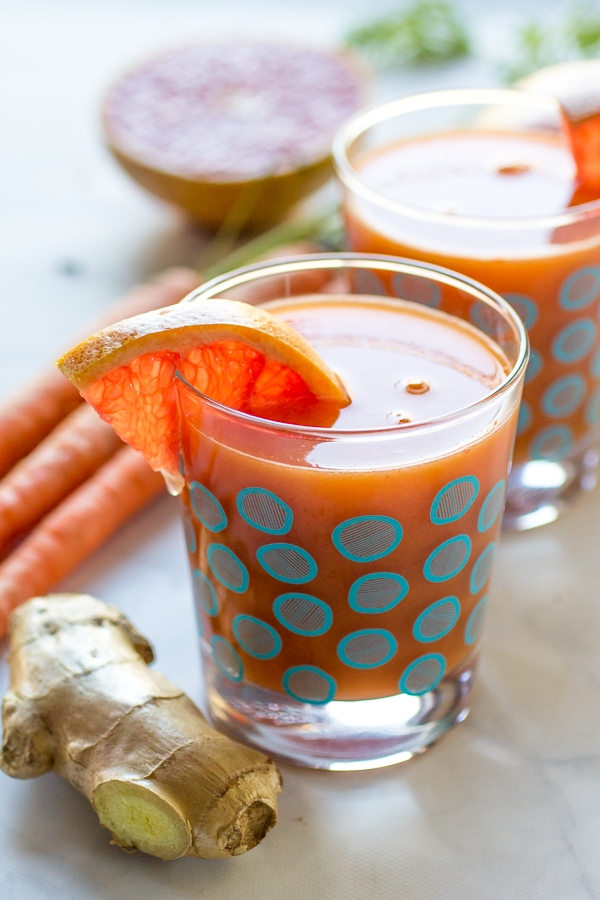 Immune Boost Juice | A week of delicious recipes inspired by places around the world!