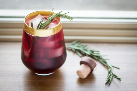 Rain Drop Cocktail | A week of delicious recipes inspired by places around the world!