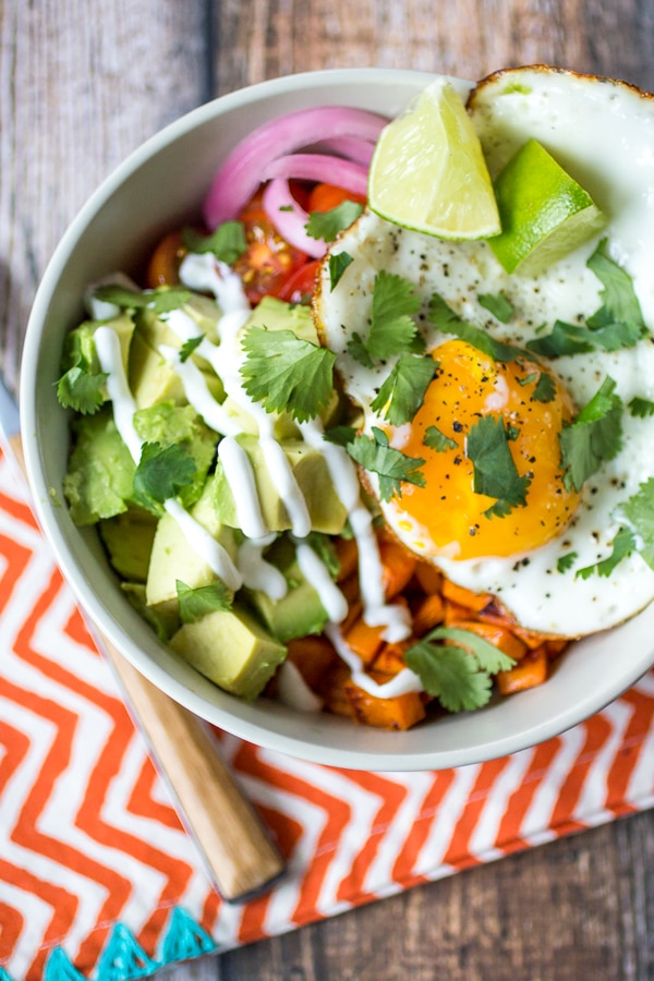 Sweet Potato Power Bowl | A week of delicious recipes inspired by places around the world!