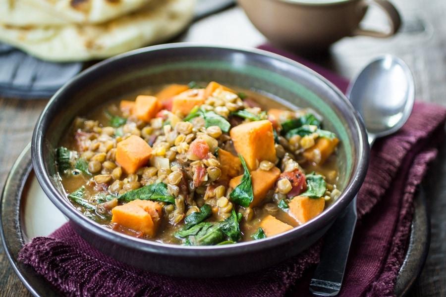 Vegan Creamy Ethiopian Lentils | Make Ahead Meatless - Week 9 - Wanderlust Meal Plan