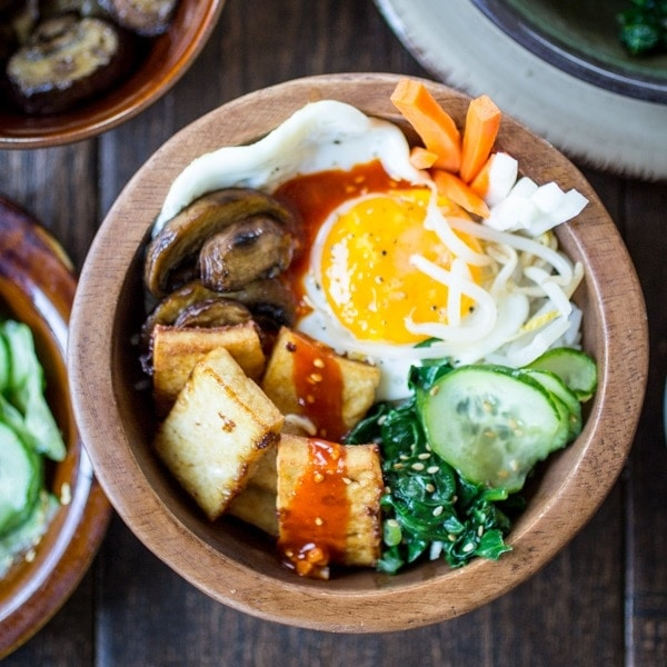 Vegetarian korean bibimbap bowls the wanderlust kitchen forumfinder Image collections