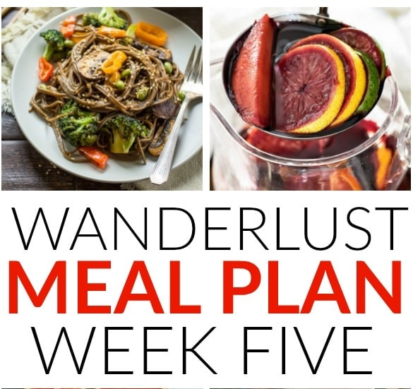 A week of delicious recipes inspired by places around the world!
