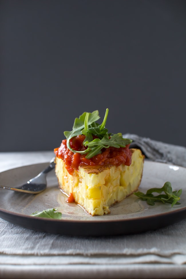 Spanish Vegetable Tortilla Recipe — Dishmaps
