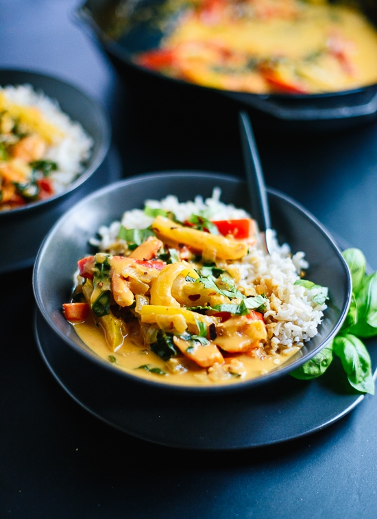 Thai Red Curry | International Vegetarian Recipes (That aren't soup or salad!) - Week 10 - Wanderlust Meal Plan