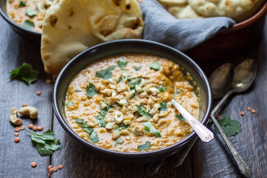 This fragrant Indian Mulligatawny Soup is spiced with curry and made ...