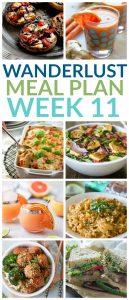 Wanderlust Meal Plan – Week 11