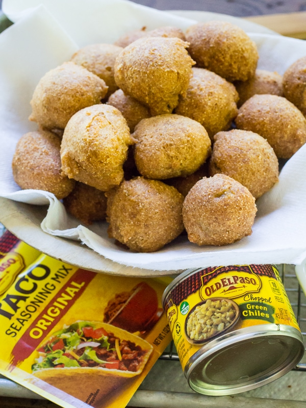 Beer Battered Mexican Hushpuppies The Wanderlust Kitchen