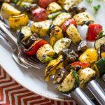 Spicy Thai-Style Grilled Veggie Skewers