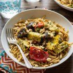 Grilled Thai Veggie Noodle Bowls