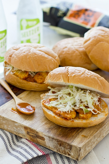 BBQ Tempeh Sandwiches   Vegetarian BBQ Recipes that EVERYONE will love! 13 recipe ideas to keep you grilling all summer long.