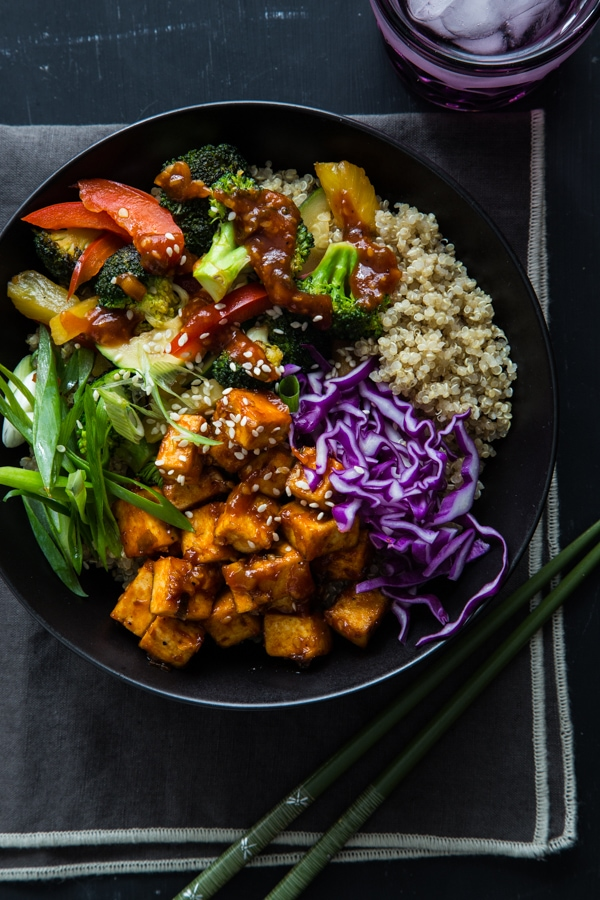 13 vegetarian bbq recipes the wanderlust kitchen korean bbq tofu bowls vegetarian bbq recipes arent just for meatless monday forumfinder Gallery