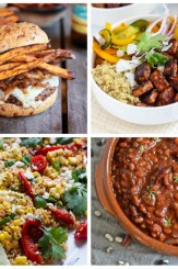 Vegetarian BBQ Recipe ideas for every day of the week! Try these delicious and meat-free recipes at your next backyard barbecue.