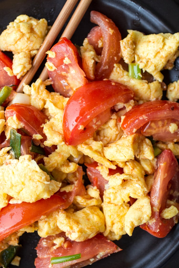 Easy chinese tomato eggs the wanderlust kitchen chinese tomato eggs are as simple as they are surprising perfect for breakfast lunch forumfinder Gallery