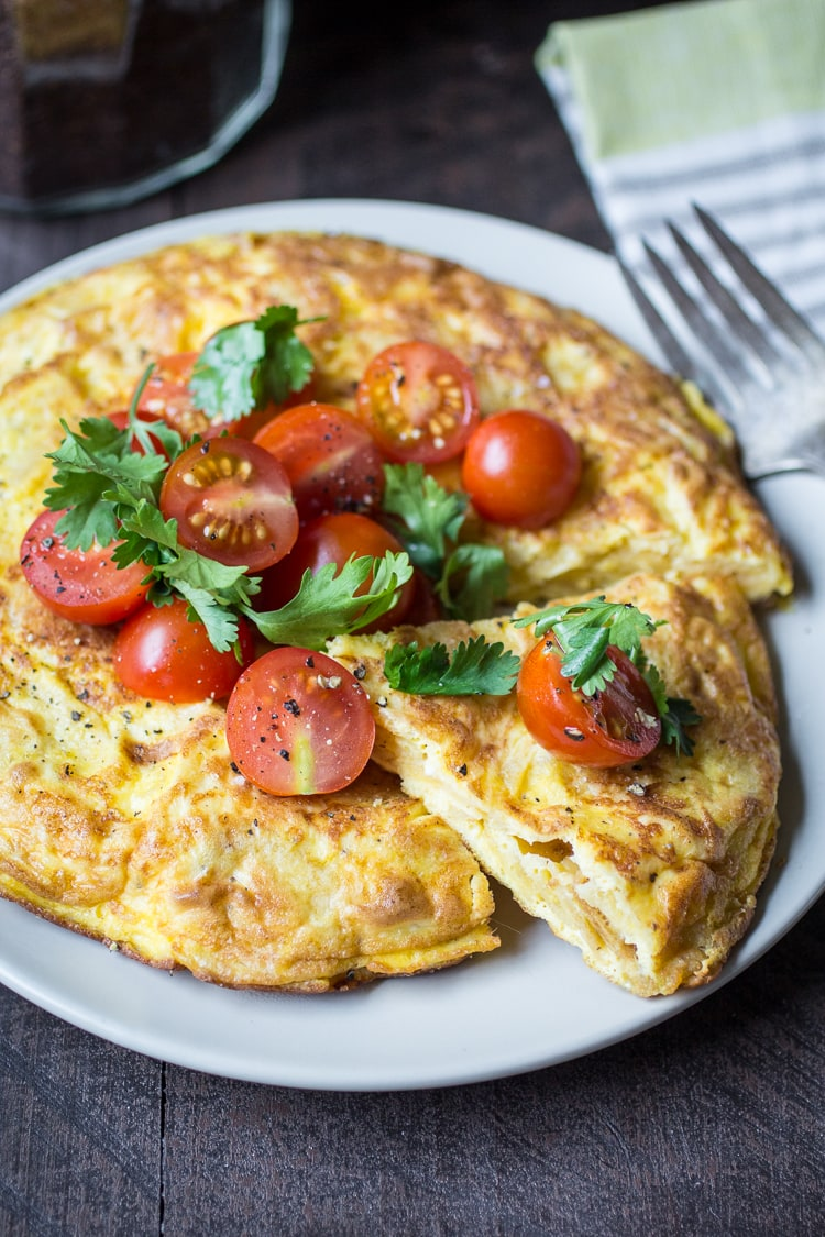 A Potato Chip Spanish Tortilla is just the thing for an easy weeknight meal. You only need three ingredients and five minutes--start to finish-- to get this dinner on the table!