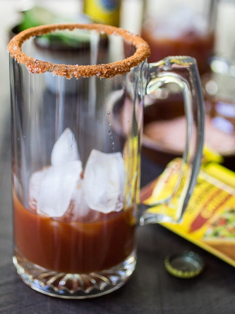 Micheladas are a delightfully simple beer cocktail known for their, shall we say, restorative properties. This spicy Mexican-style Red Beer will have you on your feet again in no time!