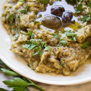 Melitzanosalata (Greek Eggplant Dip)
