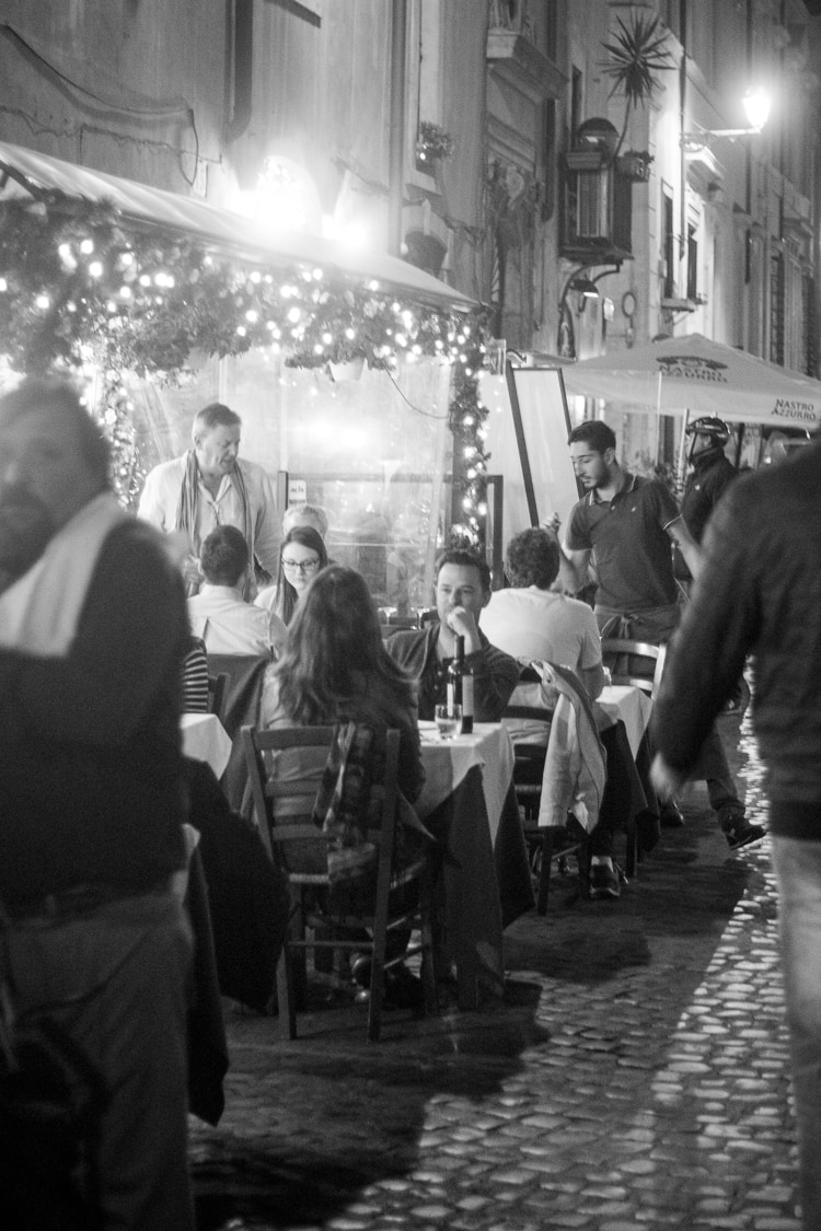 The Streets of Rome - a behind-the-scenes look from a food and travel writer.