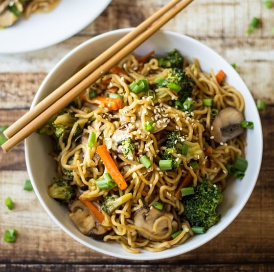 Vegetarian Chinese Dinner Party Menu