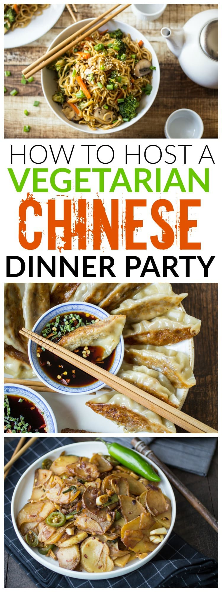 Vegetarian chinese dinner party menu the wanderlust kitchen looking for some fun inspiration for your next dinner party youll love these forumfinder Gallery