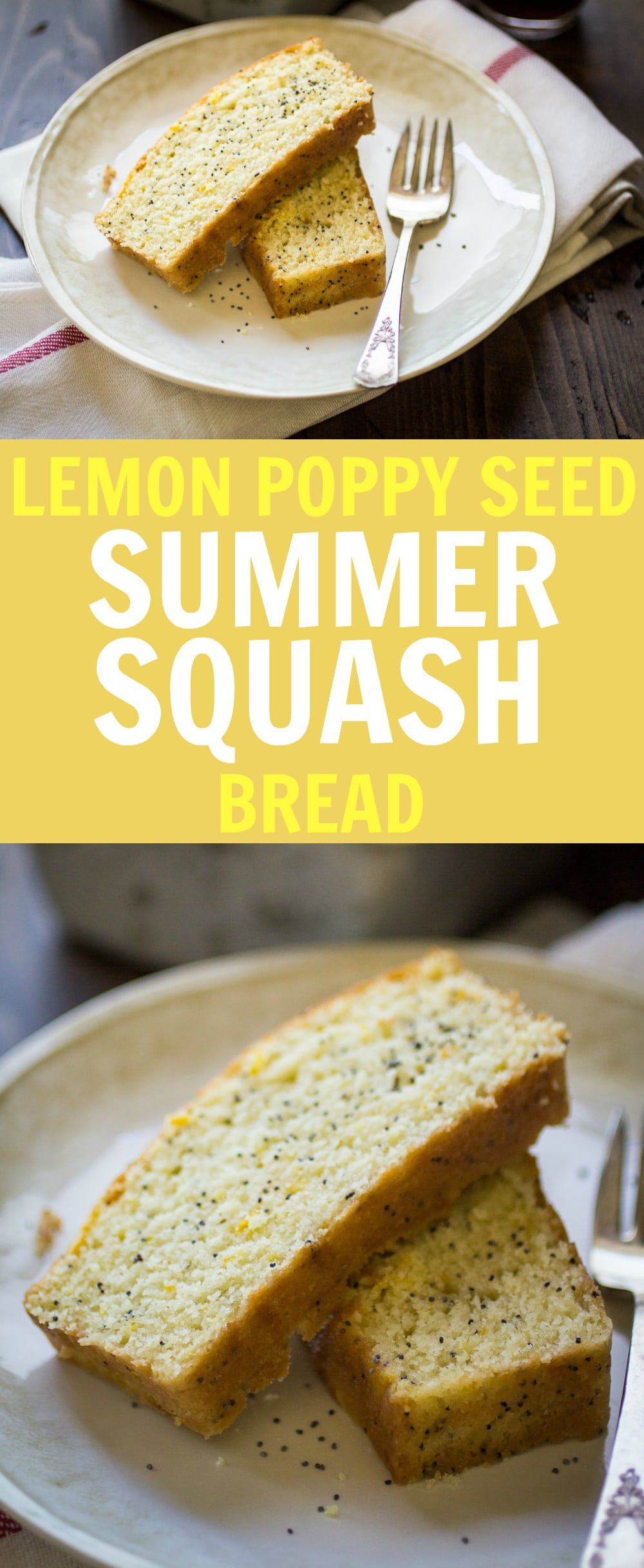 Summer Squash Bread is the best way to use up all those giant yellow squash in the garden!