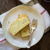 Lemon Poppy Seed Summer Squash Bread