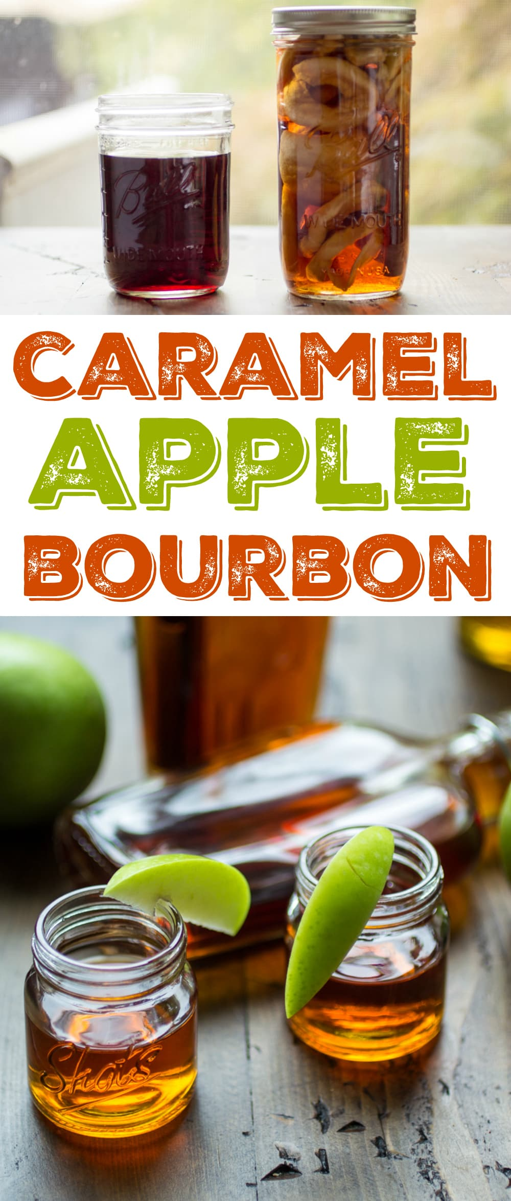 A sip of Caramel Apple Bourbon is like a sip of everything autumn! Bring a flask to the bonfire and soak up the best of the season.